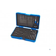 HBM 127 Piece Professional Bit Set med Bit Holders