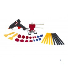 HBM 29-piece dent removal set, dent puller, dent removal without spraying