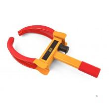 Collier de serrage universel hbm avec blocage pour roues de 185 à 290 mm.