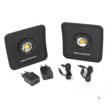 Scangrip 49.0291 nova r duo pack led arbetslampa - laddningsbar - dimbar - 1500lm action set