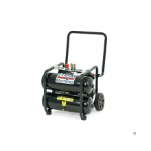 HBM 20 liter 1.5 hp mobile professional low noise compressor