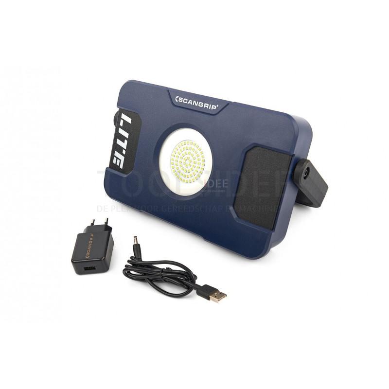 SCANGRIP FLOOD LITE M Akku LED-Scheinwerfer 500//1000//2000 Lumen 03.5631