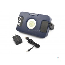 Grip Scan 03.5630 Flood Lite LED bouwlamp S - reîncărcabilă - 1000lm
