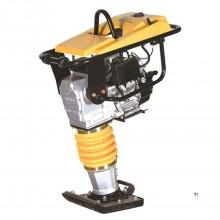 Hyundai Professional 6,5 HP vibrasjonsplate, vibrasjonsstamper inkludert hjulsett og motordeksel