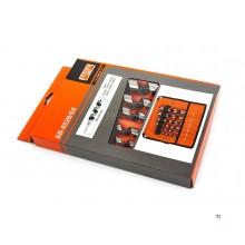 Bahco SB-9526 / S6 6-delers slangeborsett i etui - 10-25 mm