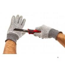 HBM cut resistant work gloves class 5 size 10 / xl