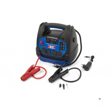 HBM professional car start booster, jump starter battery booster, 230 v, 12 v, 22 ah