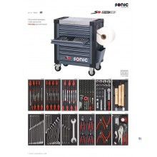 Sonic 168 Piece Filled Tool Trolley S9