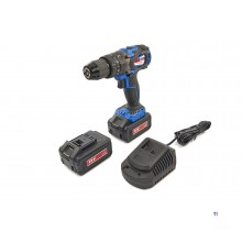 HBM professional 18 volt 4.0ah cordless drill with impact function