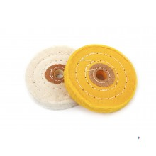 HBM 2-piece polishing disc set for pre and after polishing
