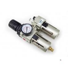 déshumidificateur professionnel hbm, régulateur de pression, brouillard d'huile