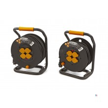 relectric professional ip44 cable reel, power reel 3x2.5 mm