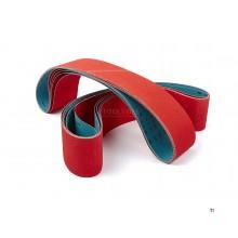 Hbm 75 x 2000 mm.keramiska slipband