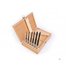 HBM Forets à trou long de 6 pièces, jeu de forets à trou long