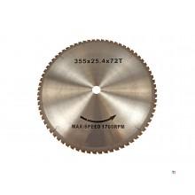 Hojas de sierra para cortadoras en seco y sierras circulares manuales para metal