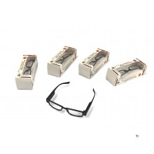 HBM reading glasses with LED lighting
