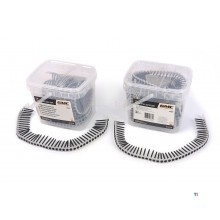 GMC 500 stykker medfølgende gipsplateskruer for GMC 550 watt automatisk skrutrekker komplett
