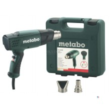 Metabo H 16-500 Hot air gun including accessories in case - 1600W - 601650500