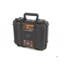 Tactix IP65 Waterdichte, Stofdichte en Stootvaste Polypropeen Koffer 34,5 x 29,5 x 15,5 cm