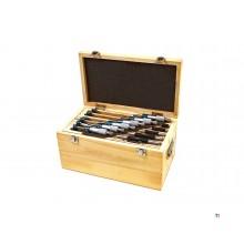dasqua professional 6 pièces 0-150 mm kit de micromètres extérieurs