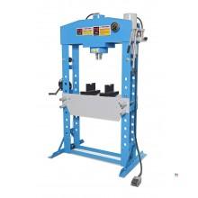 HBM 75 Tonnen hydraulische und pneumatische Rahmenpresse / Werkstattpresse