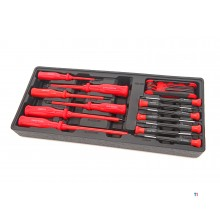 HBM 22 Piece Skrutrekkersett Inlegg for HBM Tool trolley