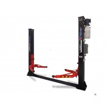 Weber Professional 2-kolonne hydraulisk løftebro 4 ton med elektronisk utløser