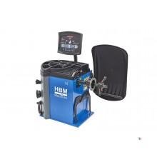 Equilibradora de neumáticos digital profesional HBM