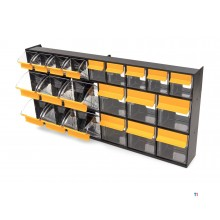 erro 21 bins, chest of drawers, assortment cabinet, storage system