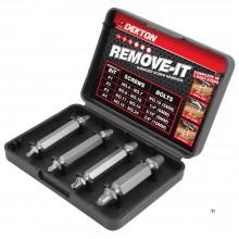 DEKTON screw removal set 4 pieces for each screw