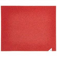 GRAPHITE sanding sheet 230x280mm, k180, paper corundum grain, suitable for metal, plastic, wood and paintwork