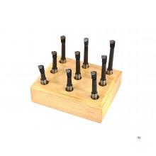 HBM 8 mm. Ensemble de coupe HM 9 pièces