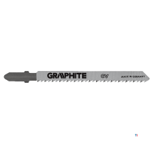 GRAPHITE jigsaws t-connection, 100mm, 10tpi, laser tec, wood, 2 pack