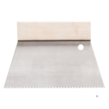 HARDY limspridare 18cm b2 skårat rostfritt stål