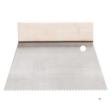 HARDY limspridare 18cm c1 tandrat rostfritt stål
