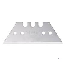 NEO ersatzklinge 52mm trapez 5 stück packung, 52 x 0,65mm, stufenweise gelasert
