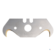 NEO ersatzklingenhakenmodell, 5-teiliges titan-pack, 0,65 mm, laserfallen