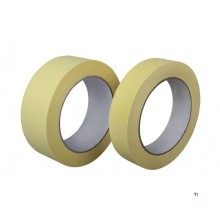 SCL professional masking tape for paintwork for inside and outside 38x33m acrylic glue, 0.15mm, uv and weather resistant, for se