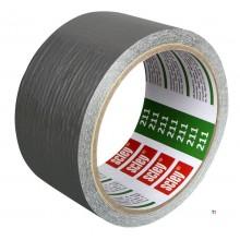 SCL nastro da costruzione professionale (nastro adesivo) 48x10m adesivo da fusione, 0,14 mm, tessuto a 32 maglie, per semplici l