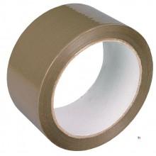 SCL nastro adesivo da imballaggio marrone 48x66m colla acrilica, resistente allo strappo, materiale pp, alta viscosa