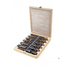 HBM 12 Piece Cylindrical Drill Bit Set