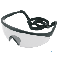 TOPEX safety glasses adjustable buckle and extendable legs, ce and tuv
