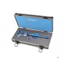 Dasqua IP 54 Professional 150 mm digital kaliber med stor skærm og metalhus