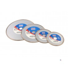 HBM diamond cutting discs closed