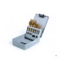 HBM 7-stykke HSS - Tinnbelagt forsyningssett