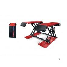 Weber Professional Pod de curățare pentru mașini electrice de 3 tone, pod de curățare, pod cu foarfece - 230 volți