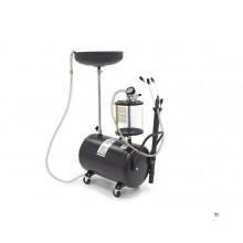 HBM 70 liters oljesamlingssystem / oljextraktor, oljeborttagare extra låg