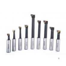 HBM 9 pieces carbide cutter tool sets