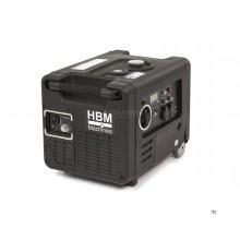 Generador / inversor HBM HY4000i con motor de gasolina de 4000 W y control remoto