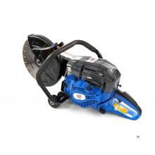 HBM Sierra para hormigón profesional / Sierra para neumáticos / Amoladora de motor 2400 W - 58 cc con hoja de 300 mm
